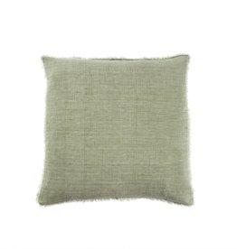 Belgian Linen Pillow - Olive
