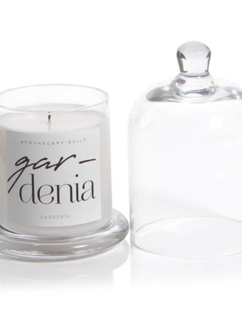 Lyla Candle w/ Dome Jar- Gardenia