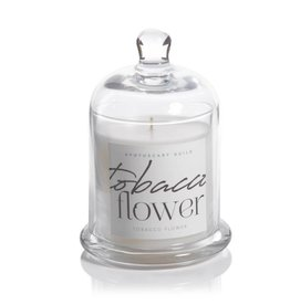Lyla Candle w/ Dome Jar- Tobacco Flower