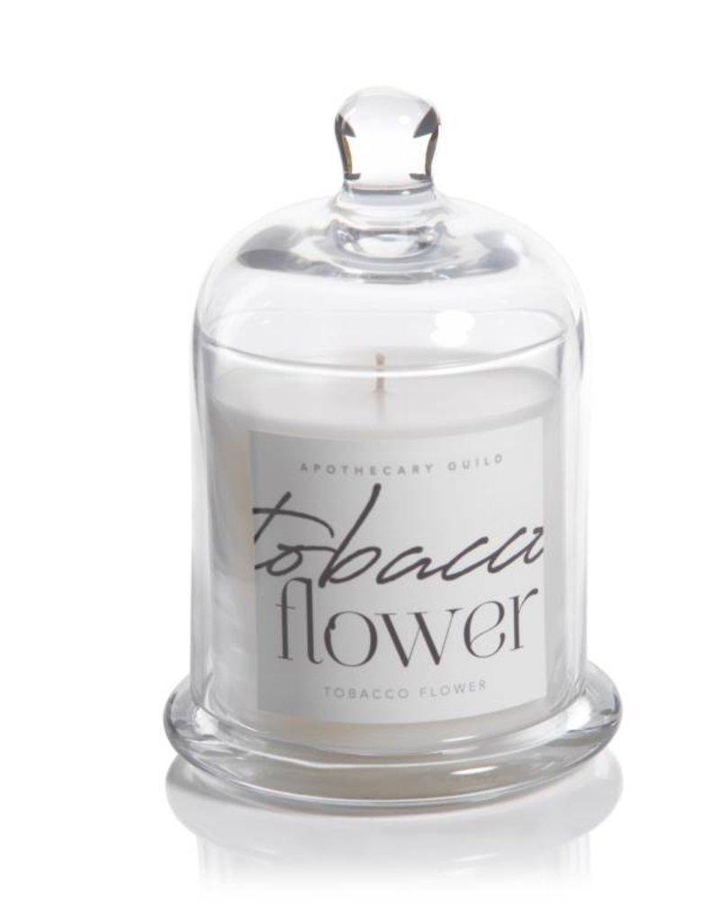 Lyla Candle w/ Dome Jar- Tobacco Flower