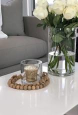 Natural Wooden Garland Beads