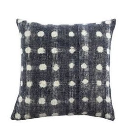 Indigo Dot Pillow