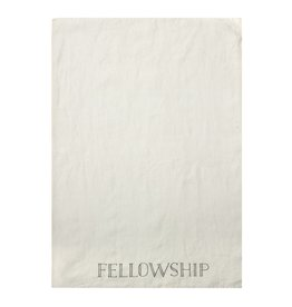 Linen Fellowship Tea Towel