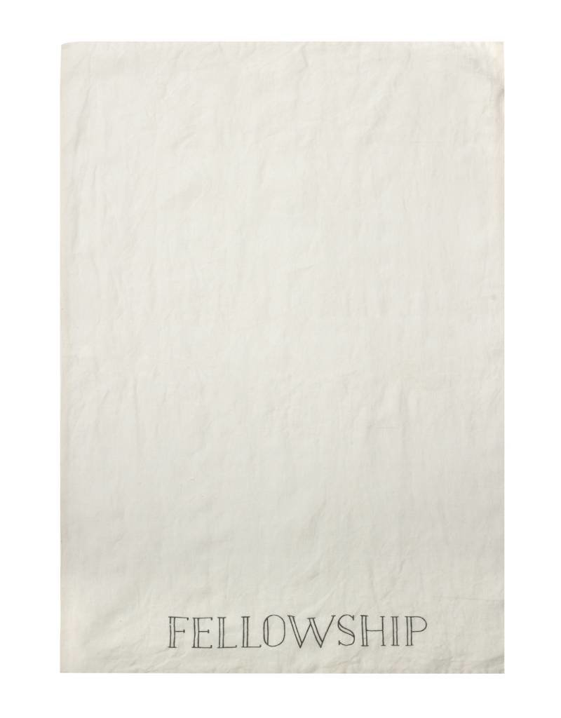 Linen Fellowship Tea Towel