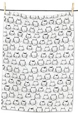 Cat Face Tea Towel