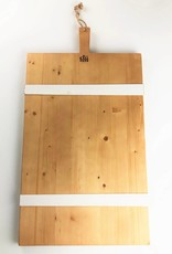 White Stripe Modern Charcuterie Board