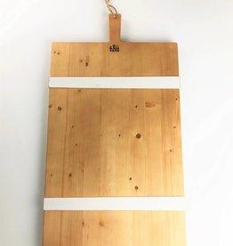 Modern Charcuterie Board - White