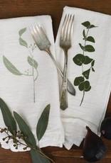 Eucalyptus Cotton Flour Sack Napkins - Set of 4