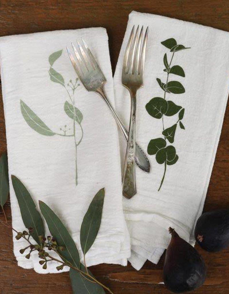Eucalyptus Cotton Napkins - Set of 4