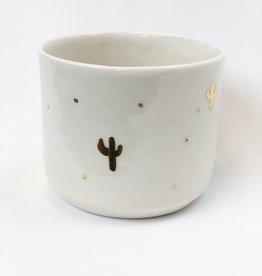 Gold Cactus Vessel