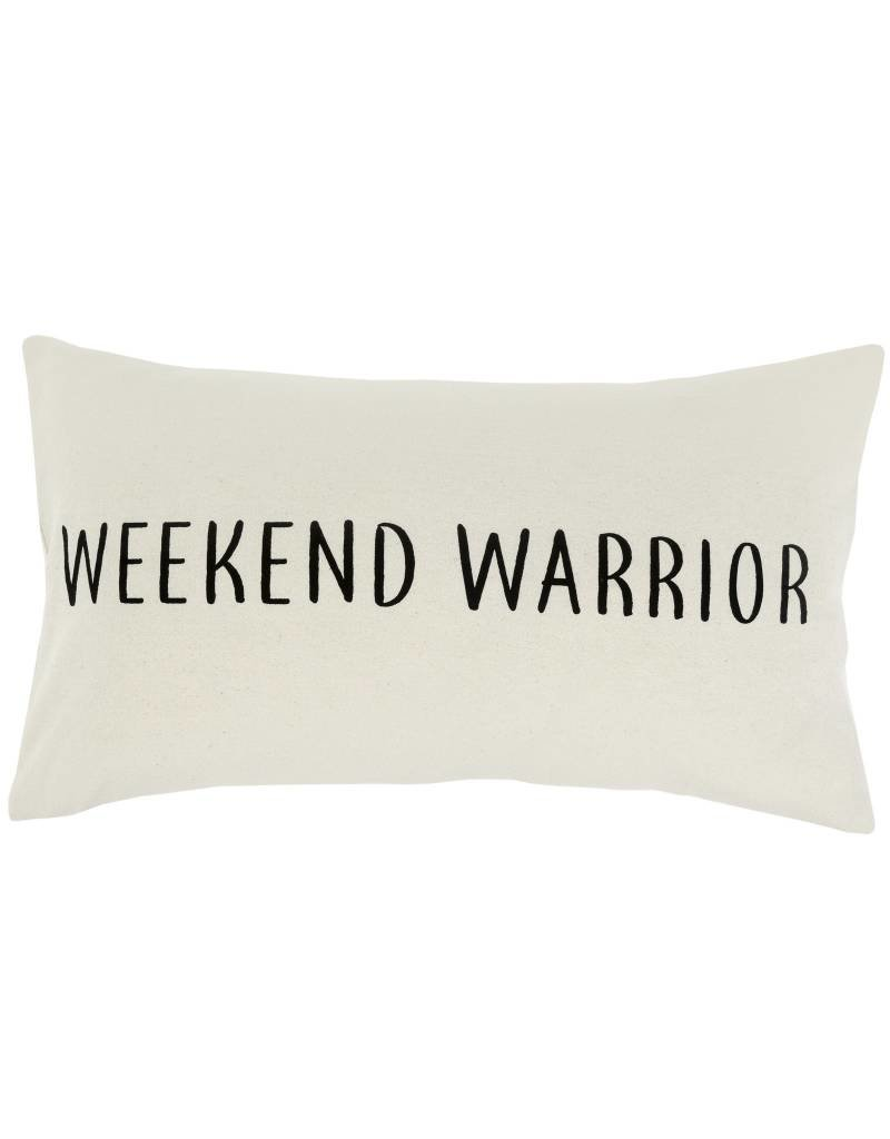 Weekend Warrior Throw Pillow