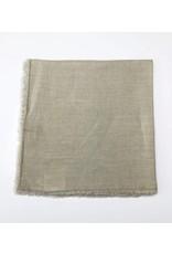 Sand Linen Fringed Napkin