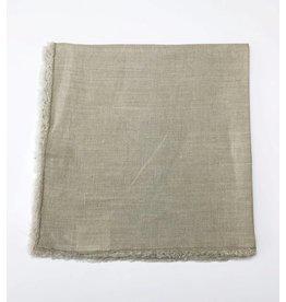 Linen Fringed Napkin - Sand