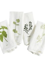 Garden Flavors Cotton Napkins - Set of 4