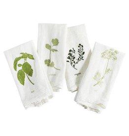 Garden Flavors Cotton Napkins - Set of 4