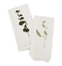 Eucalyptus Cotton Flour Sack Napkins