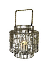 Small Ian Rattan Outdoor Lantern