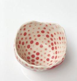 Polli Pot w/ Red Stripe/ Dots