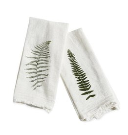 Wild Fern Cotton Flour Sack Napkins - Set of 4