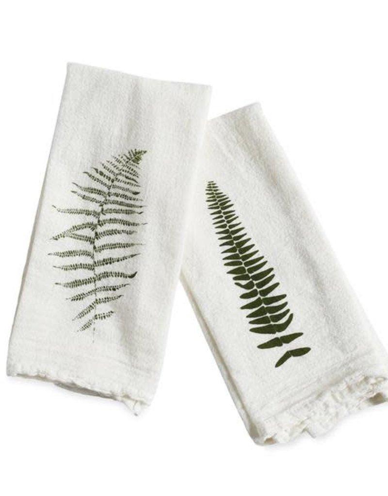 Wild Fern Cotton Flour Sack Napkins