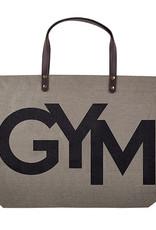 GYM -Jute Tote Bag