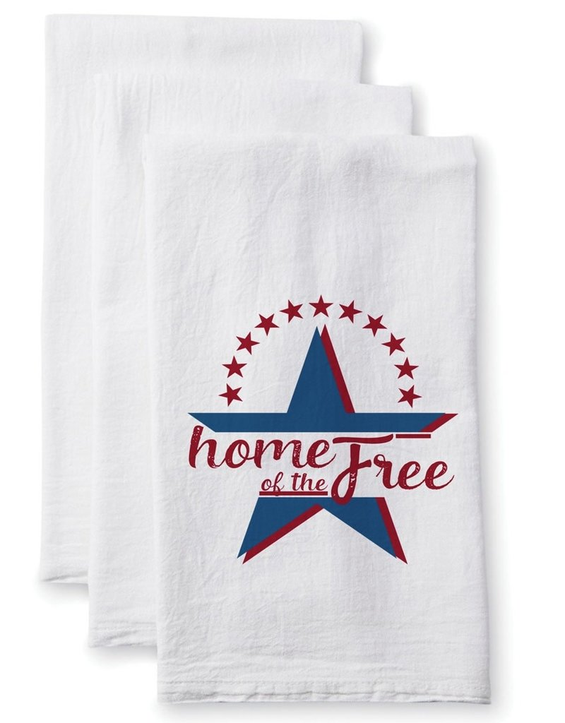 Home of the Free Towel - Cotton