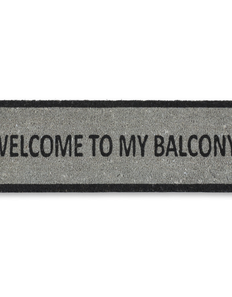 Welcome to My Balcony Coir Small-Mat