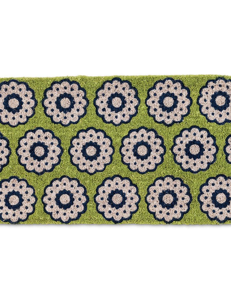 Spirograph Coir Doormat