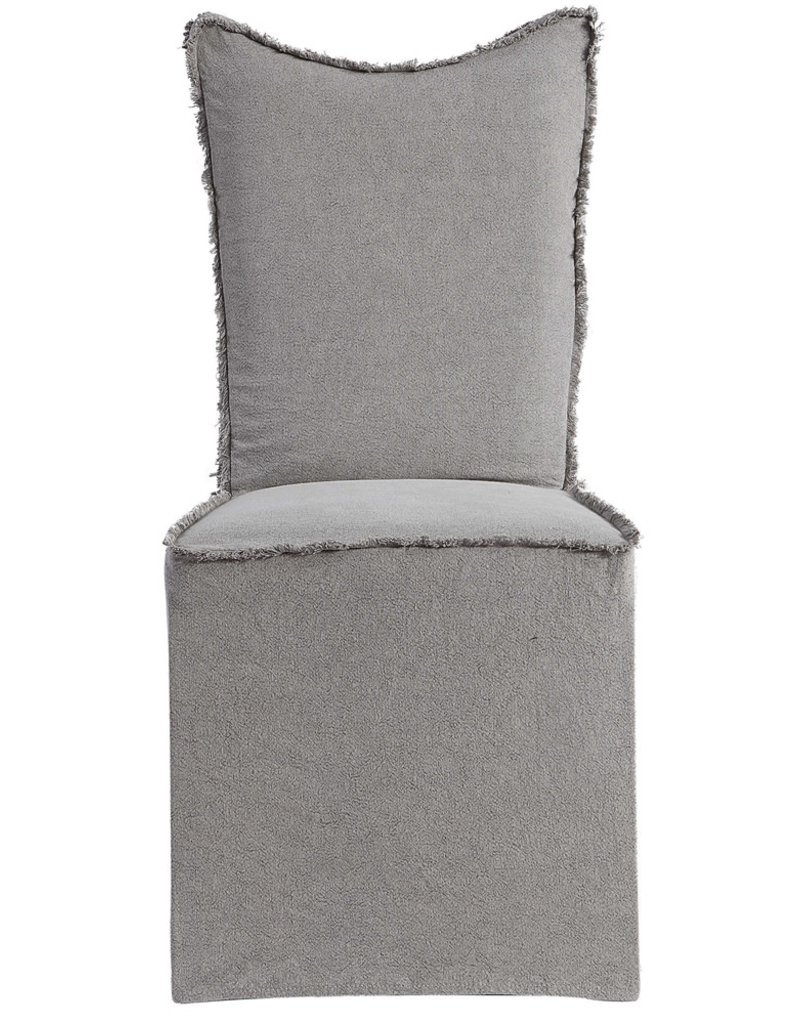 Narissa Armless Dining Chair with Slipcover