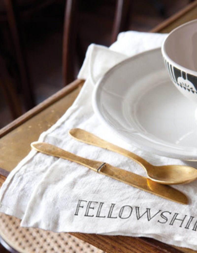 White Linen Fellowship Napkins