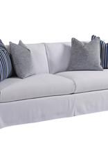 White Mia Slipcover Sofa