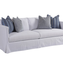 Mia Slipcover Sofa - White