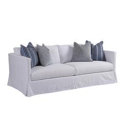 Mia Slipcover Sofa - White