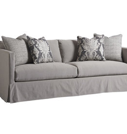 Mia Slipcover Sofa - Gray
