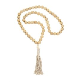 Tassel Blessing Beads - Natural