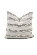 Gray Sanj Throw Pillow