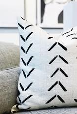 Jaya  Mud Cloth Accent Pillow