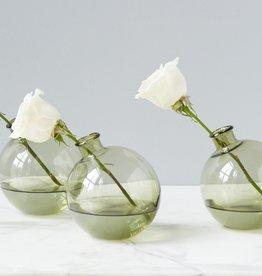 Olive Sphere Vase