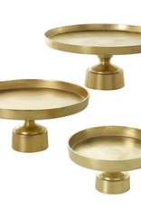 Gold Fuse Pedestal Tray Centerpiece
