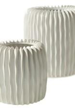 "Ceramic Haven Vase 5x5"""