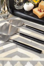 Black and Silver Cheese Set