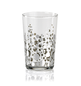 Dot Design Tealight Holder - Silver