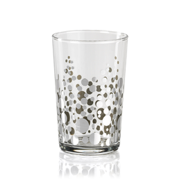 Dot Design Tealight Holder - Silver