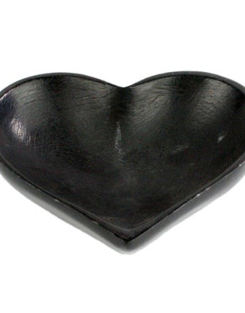 Large Soapstone Heart Bowl