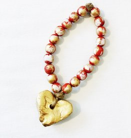 Blessing Bead Heart Ornament