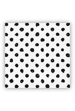 White Polka Dot Cheese Paper