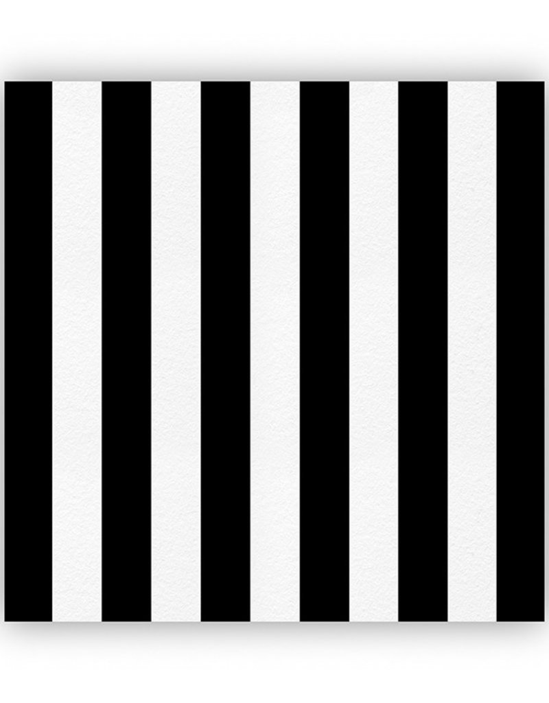 Black and White Striped Cheese Paper