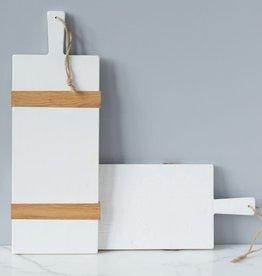 White Rectangle Mod Charcuterie Board - Small