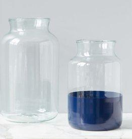 Ava Navy  Mason Jar - Medium