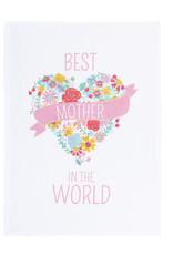 Best Mother in the World Tea Towel